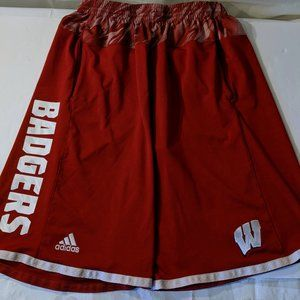 Adidas Climalite Wisconsin Badgers Shorts